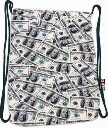 St. Majewski Plecak na sznurkach SO-11 DOLLARS St.Right