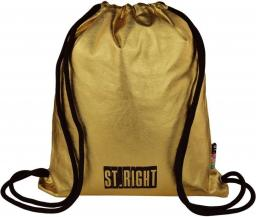 St. Majewski Plecak na sznurkach SO-11 GOLD St.Right