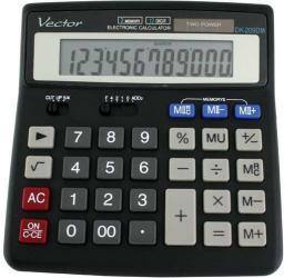 Kalkulator Casio VECTOR (KAV DK-209DM BLK)