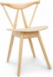 King Home Krzesło branch brązowe
