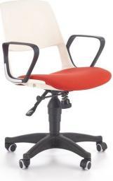 Halmar Fotel młodzieżowy Jumbo biało - czerwony