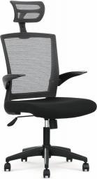 Halmar Fotel pracowniczny Valor czarno-popielaty