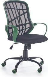 Halmar DESSERT fotel pracowniczny zielono - czarny