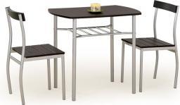 Halmar LANCE zestaw stół + 2 krzesła wenge