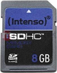 Karta Intenso SDHC 8GB 3401460