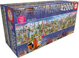 Educa Puzzle Dookoła świata 42000 elementów