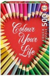 Educa Puzzle Colour your life 500 elementów