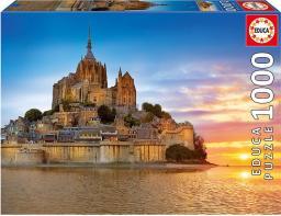 Educa Puzzle Mont Saint Michel France 1000 elementów