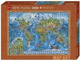 Puzzle Wspaniały Świat 2000 elementów