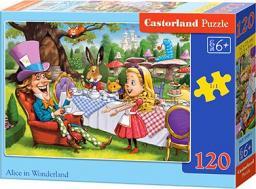 Castorland Puzzle Alice in Wonderland 120 elementów