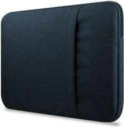 Etui Tech-Protect Sleeve do Apple Macbook Air/Pro 15 granatowe