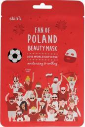 Skin79 Fan of Poland Maska w płacie 2018 World Cup nawilżająco-kojąca