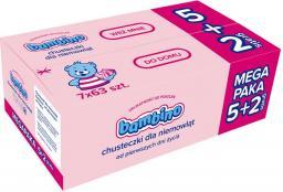 Bambino Chusteczki - wkład  7op. x 63 szt. (5+2 gratis)