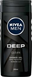 Nivea Men Żel pod prysznic Deep Clean  250ml