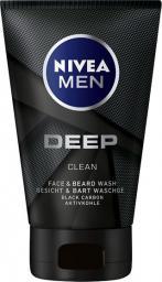 Nivea Men Żel do mycia twarzy Deep Clean  100ml