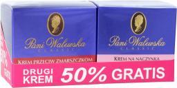 Miraculum  Pani Walewska Classic DUO Krem przeciwzmarszczkowy  50ml + Krem na naczynka  50ml