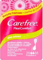 Carefree Carefree Flexi Comfort Aloe Extract  Wkładki higieniczne  1op.-20szt