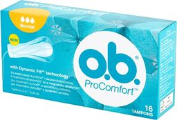 O.B O.B.ProComfort  Normal  komfortowe tampony 1op.-16szt