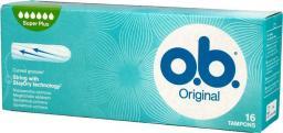 O.B Original  Tampony  Super Plus 16 szt.