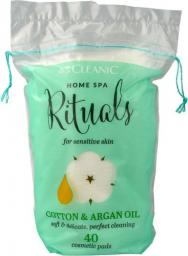 Cleanic Płatki kosmetyczne Home Spa Ritualy Cotton&Argan Oil 40 szt.