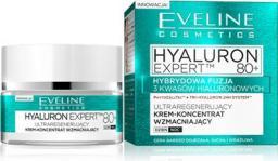 Eveline Hyaluron Expert 80+ Krem-koncentrat ultraregenerujący na dzień i noc  50ml