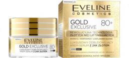 Eveline Gold Lift Expert 80+ Krem-serum odbudowujący na dzień i noc  50ml