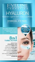 Eveline Hyaluron Płatki hydrożelowe pod oczy rozświetlające 8w1 2szt