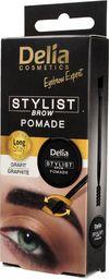 Delia Delia Cosmetics Eyebrow Expert Pomada do brwi Grafit  1szt