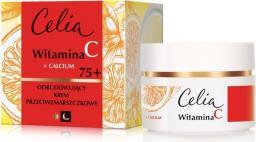 Celia Celia Witamina C 75+ Odbudowujący krem przeciwzmarszczkowy na dzień i noc  50ml