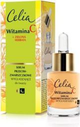 Celia Celia Witamina C 45+ Wygładzające serum przeciwzmarszczkowe na dzień i noc  15ml