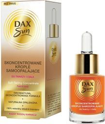 DAX Sun Skoncentrowane krople samoopalające do twarzy i ciała  15ml