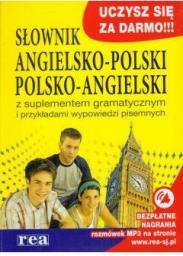 Słownik angielsko-polski / polsko-angielski z suplementem gramatycznym