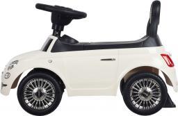 Sun Baby Jeździk Fiat 500 - Gelato biały (J05.026.1.3)