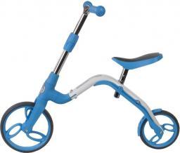 Sun Baby Rowerek biegowy i hulajnoga EVO 360° Pro - niebieski (J02.007.1.1)