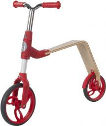 Sun Baby Rowerek biegowy i hulajnoga EVO 360° - czerwony (J02.006.1.1)