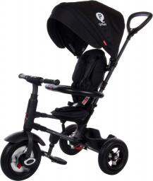 Sun Baby Rowerek trójkołowy - pompowane koła Qplay Rito - czarny (J01.014.1.6)