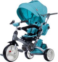 Sun Baby Rowerek trójkołowy Little Tiger - melanż turkusowy (J01.007.1.11)