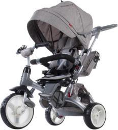 Sun Baby Rowerek trójkołowy Little Tiger - melanż szary (J01.007.1.9)