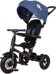 Sun Baby Rowerek trójkołowy - pompowane koła Qplay Rito - niebieski