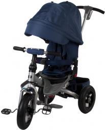 Sun Baby Rowerek trójkołowy na pompowanych kołach - niebieski (J01.008.1.2)
