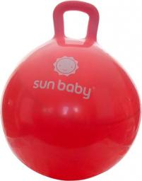 Sun Baby Piłka Skoczek - Czerwona