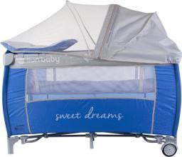 Sun Baby Łóżeczko turystyczne z pełnym wyposażeniem - Sweet Dreams (SD995/NS)
