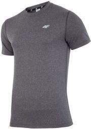 4f 4F T-shirt męski H4Z17-TSMF001 szary r. M