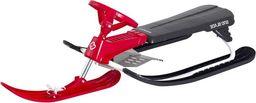 Hamax Nartosanki Sno Blade z hamulcami z kierownicą czerwone (N0626)