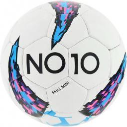 NO10 Piłka Nożna NO10 Champion Blue Skill Mini biało-niebieska r. 2