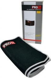 PROfit Pas neoprenowy szeroki 125X30X03cm czarny (P2855 )