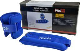PROfit Obciążenia na ręce i nogi revolution niebieskie 2x1.5kg (O0782)