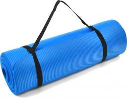 PROfit Mata Fitness Pro NBR niebieska 180x60x1.5cm (DK 2264)