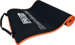PROfit Mata do ćwiczeń czarno-pomarańczowa 180x60x0.6cm (DK 705)