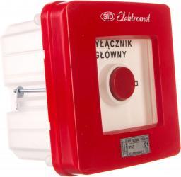 Elektromet Wyłącznik alarmowy 4Z 12A /WYŁĄCZNIK GŁÓWNY/ IP55 WGp-5s (921594)